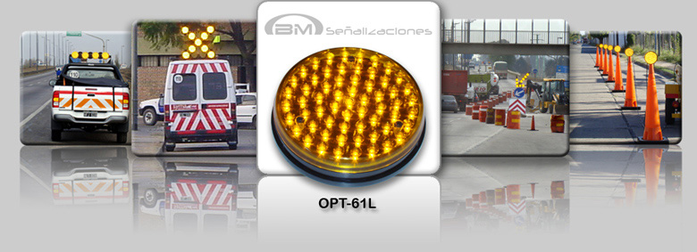 Opticas con leds para Seguridad Vial